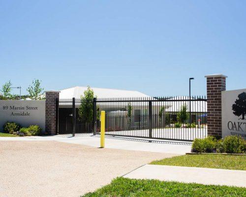 Oaktree Village_Armidale_Security Gate 004 -resize